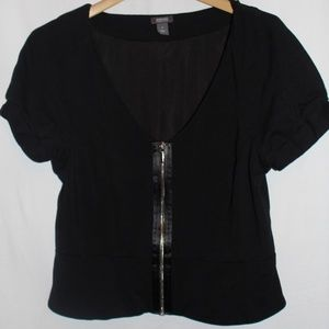 |KENNETH COLE REACTION| Zip-Up Blouse Size 12